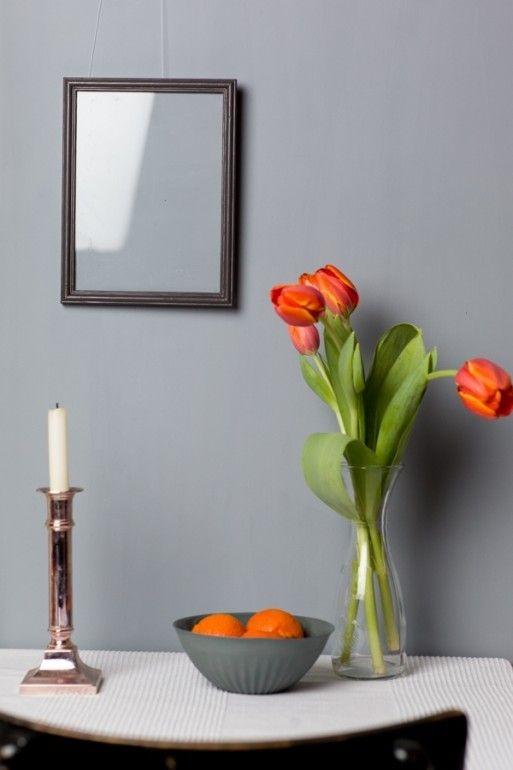 gustav 064 kreideemulsion kreidefarbe grau blaue wand und m belfarbe davon pinterest. Black Bedroom Furniture Sets. Home Design Ideas