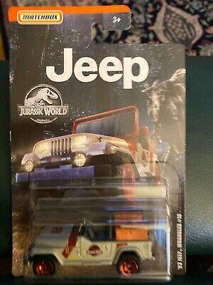 Details about 2019 Matchbox JEEP 1993 Wrangler #10 Jurassic Park World #jurassicparkworld