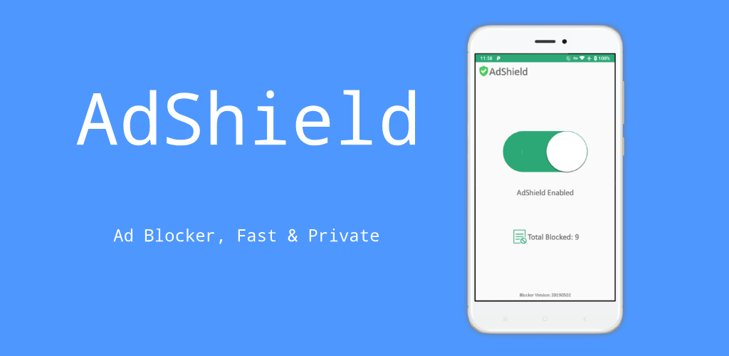 AdShield Ad Blocker, Fast & Private v4.6.7 Full Unlocked