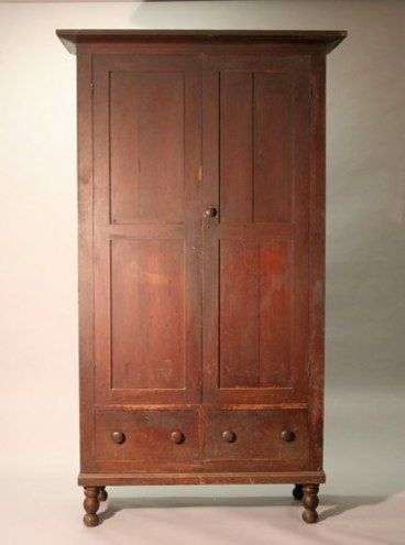 Middle Tennessee Cherry Wardrobe Sold Southern Furniture Carved Furniture Antique Armoire