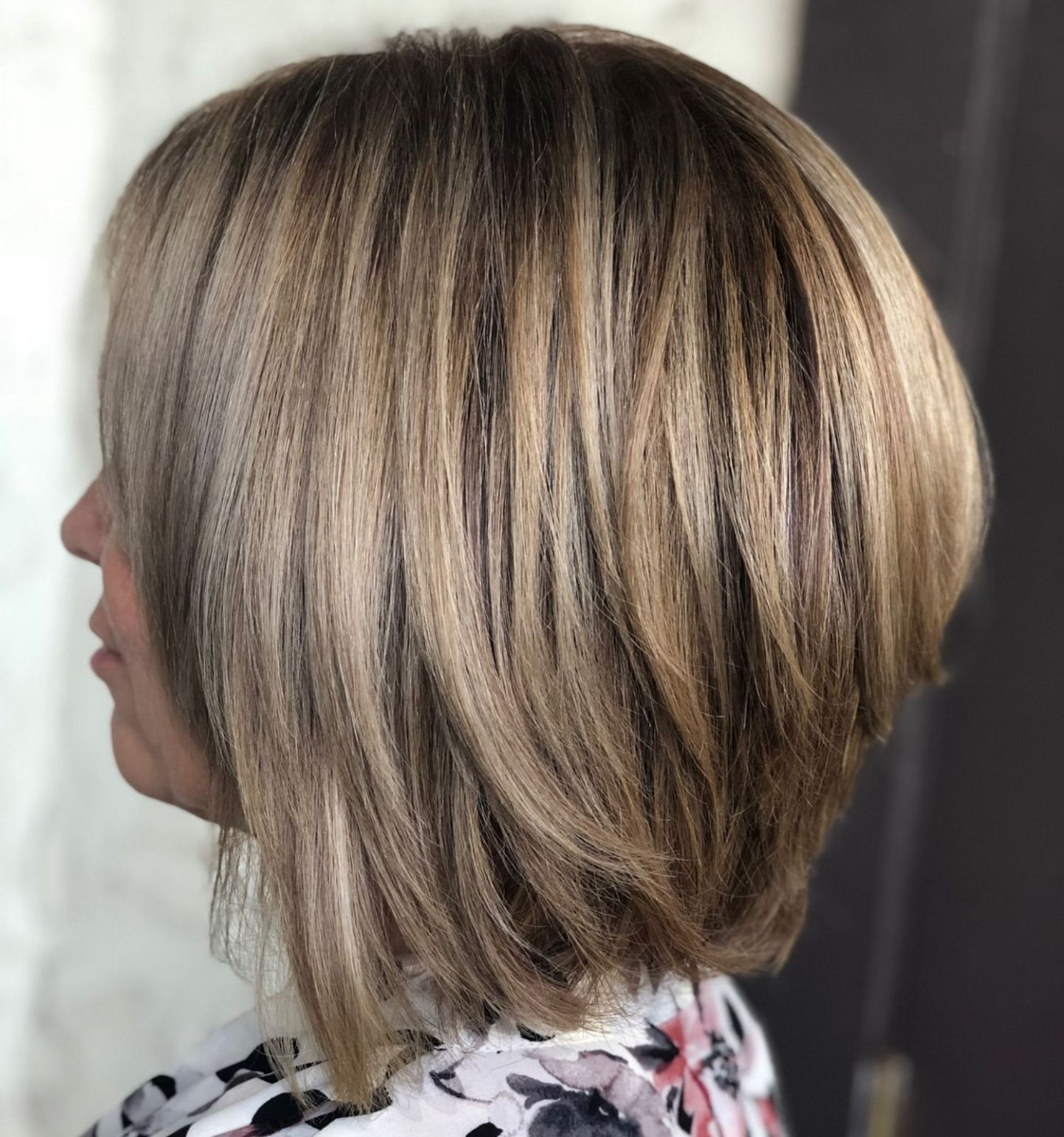 60 Layered Bob Styles: Modern Haircuts with Layers for Any Occasion | Long bob  haircuts, Bob hairstyles, Layered bob hairstyles