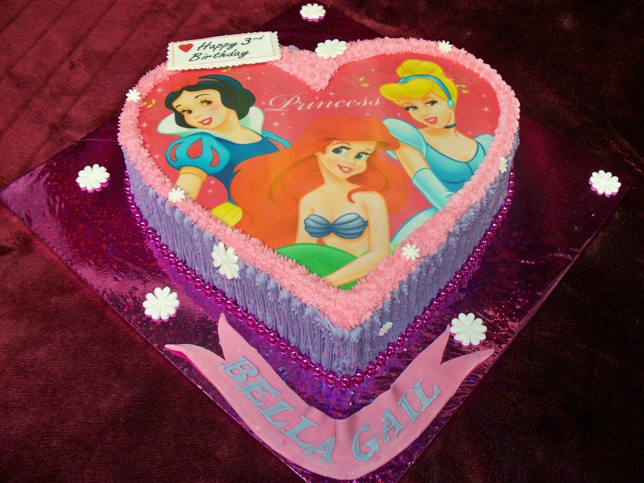 Disney Princess Birthday Cake Frescofoods Email Fresco