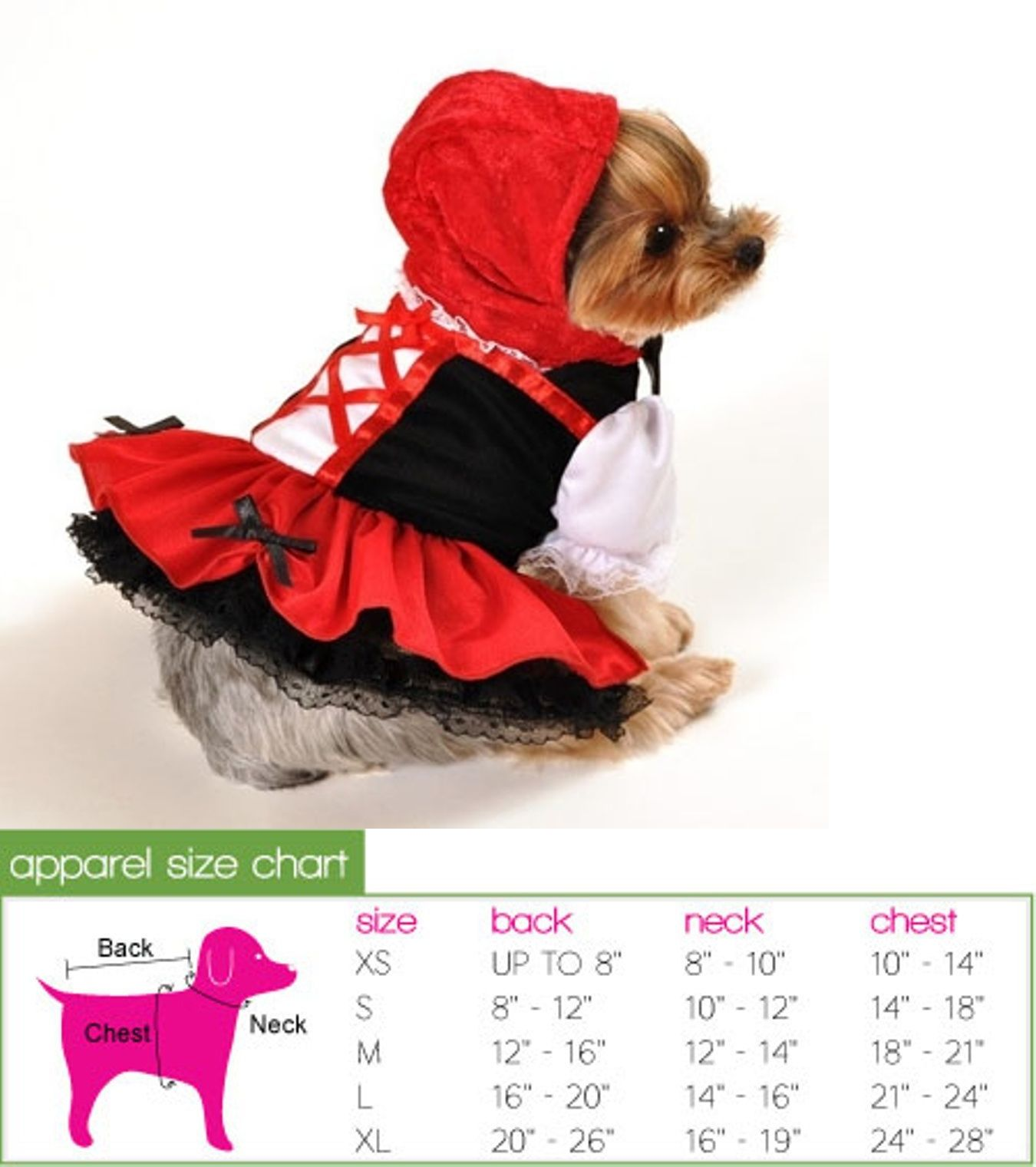 Costumes 52352: Red Hood Dress Costume By Anit Accessories ~ Size Large -> BUY IT NOW ONLY: $40.99 on eBay!