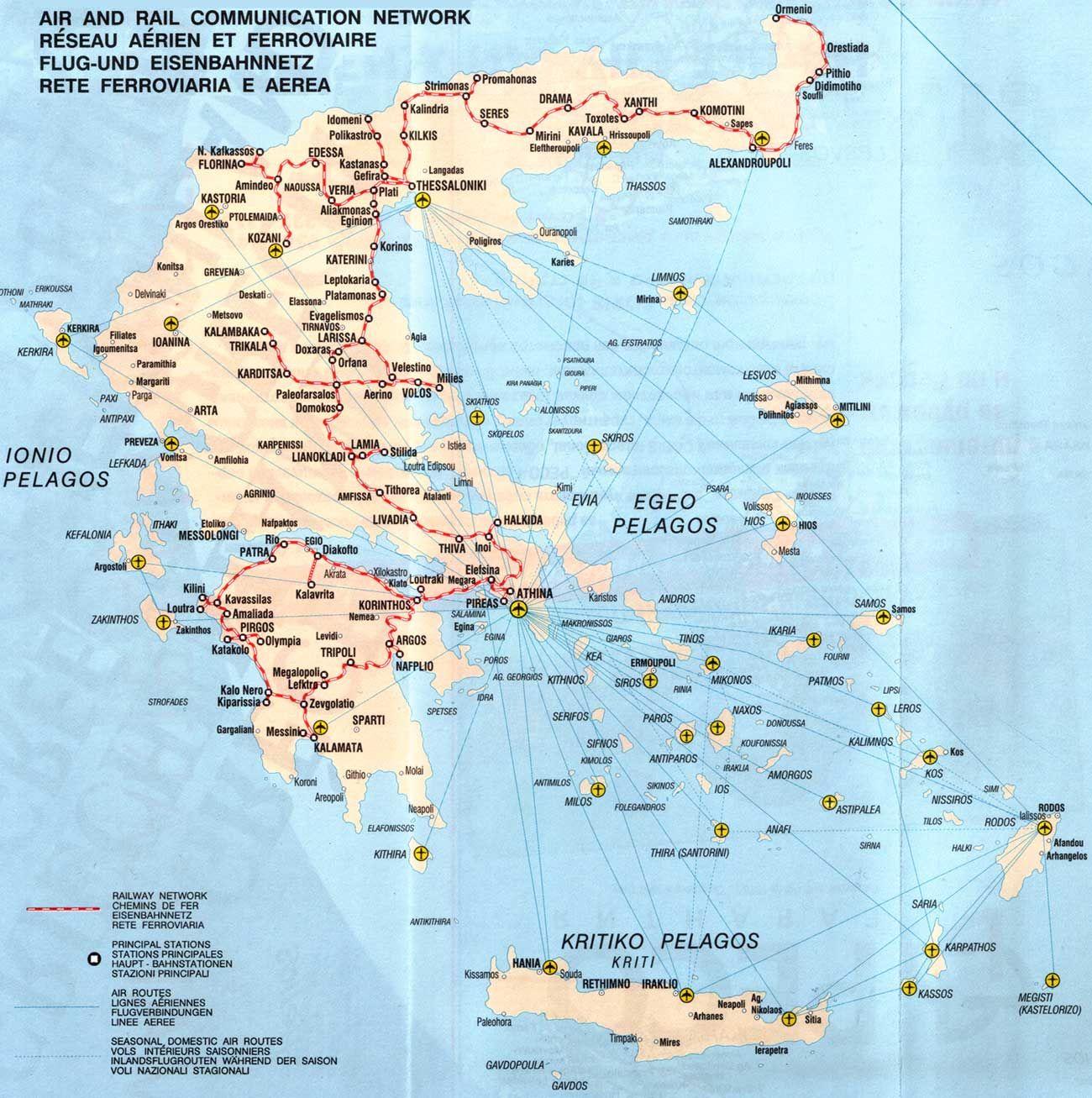 Greek Island Map Greece Greece Panteon Greece Photos Greece