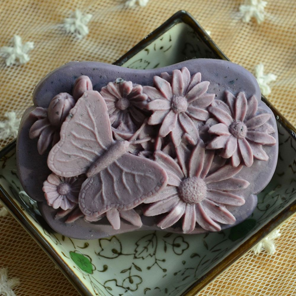Silicone Soap Molds For Handmade Craft Diy Butterfly And