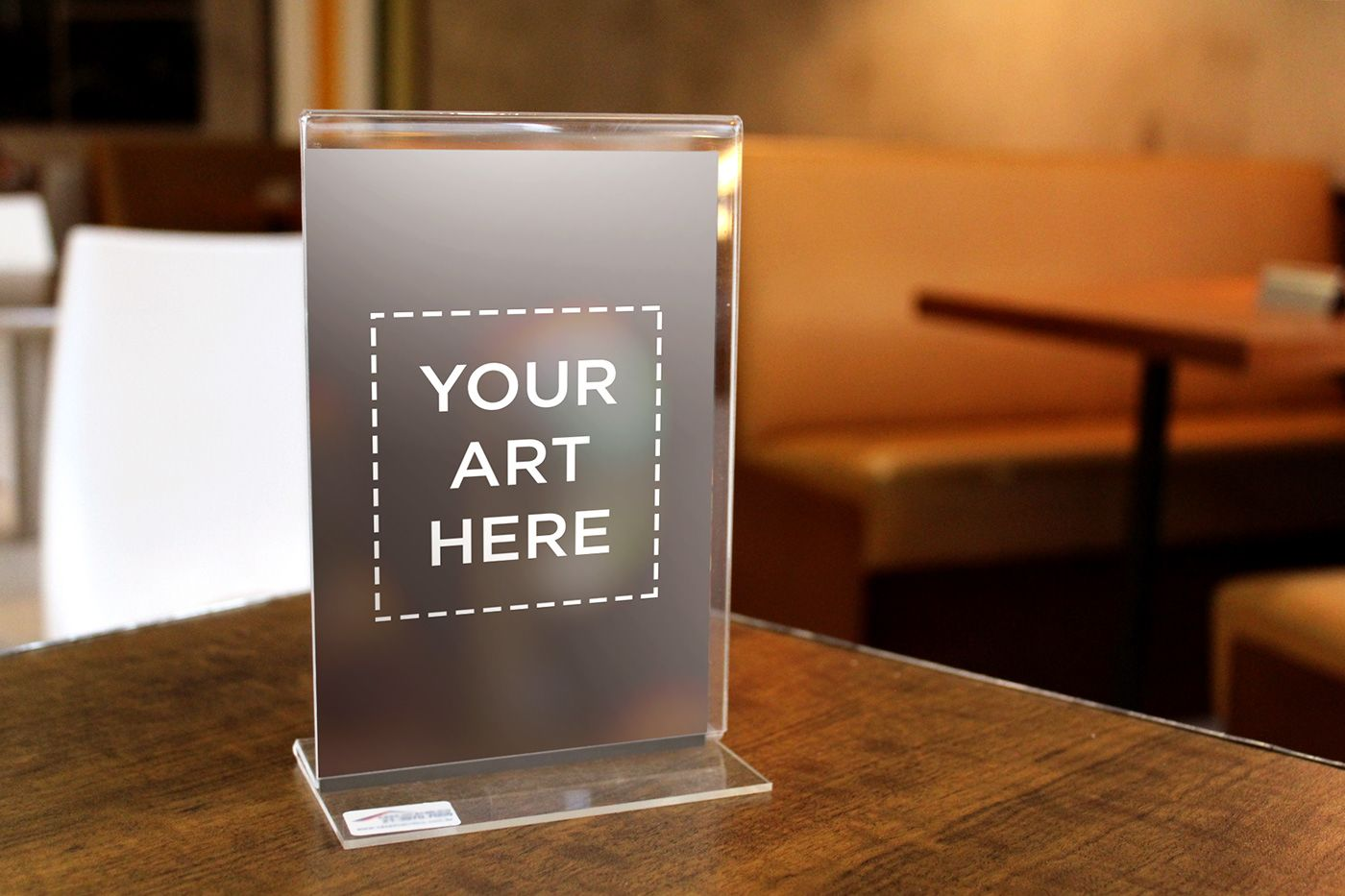 Thickness Acrylic Table Standee Mockup Free Download On Behance