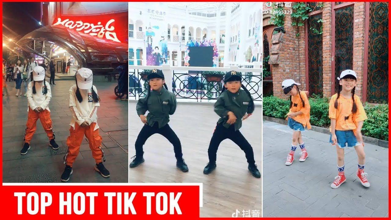 Tik Tok China | Cute Twins with Funny Dance - YouTube  |Tiktok Dance Twins