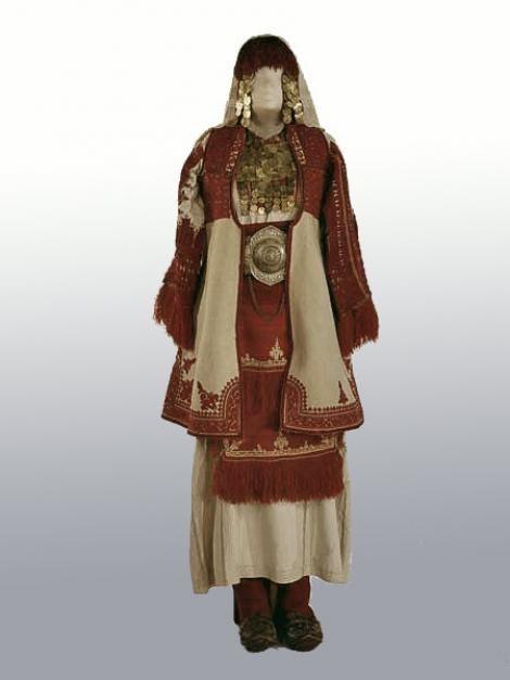 Women's Costume gala. Macedonians. Smilevo village, district Bitol first half of the XIX century