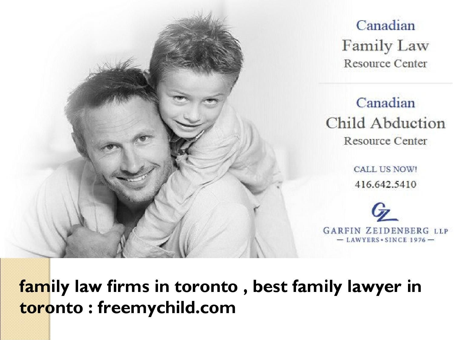 Family Law Firms In Toronto, Best Family Lawyer in Toronto