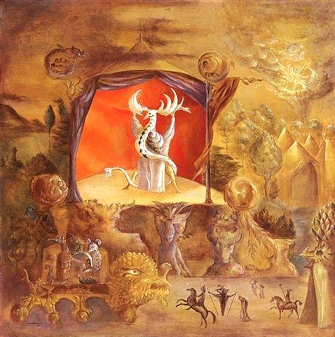 leonora carrington - el juglar - 1917