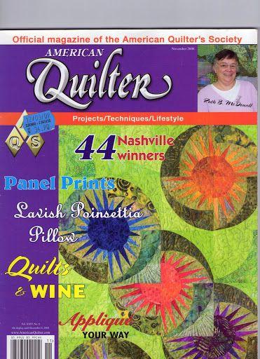 american quilter dez2008 - Rosella Horst - Picasa Web Albums