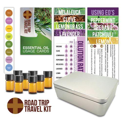 Road Trip Travel Essential Oil DIY Kit