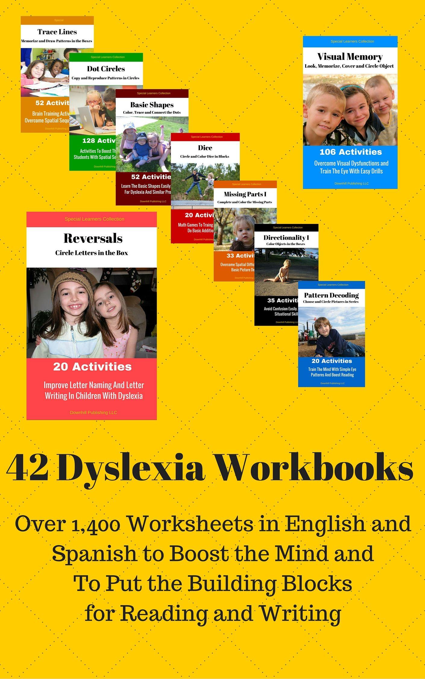 16 Dyslexia Worksheets Exercices