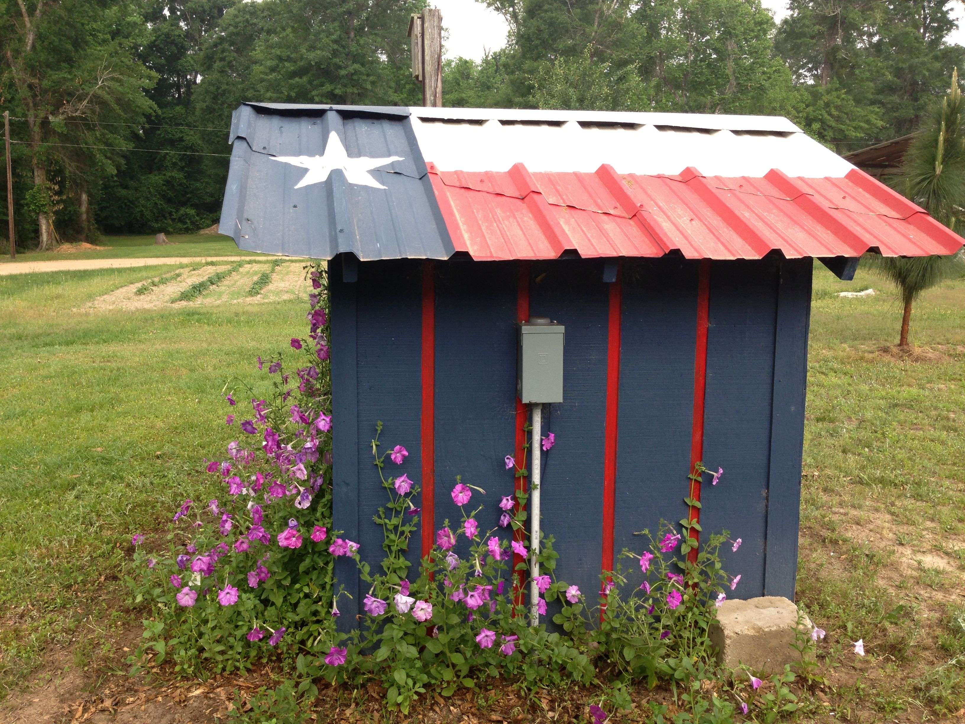 Minus The Artistic Paint Job Pump House Backyard For Kids Shed Design