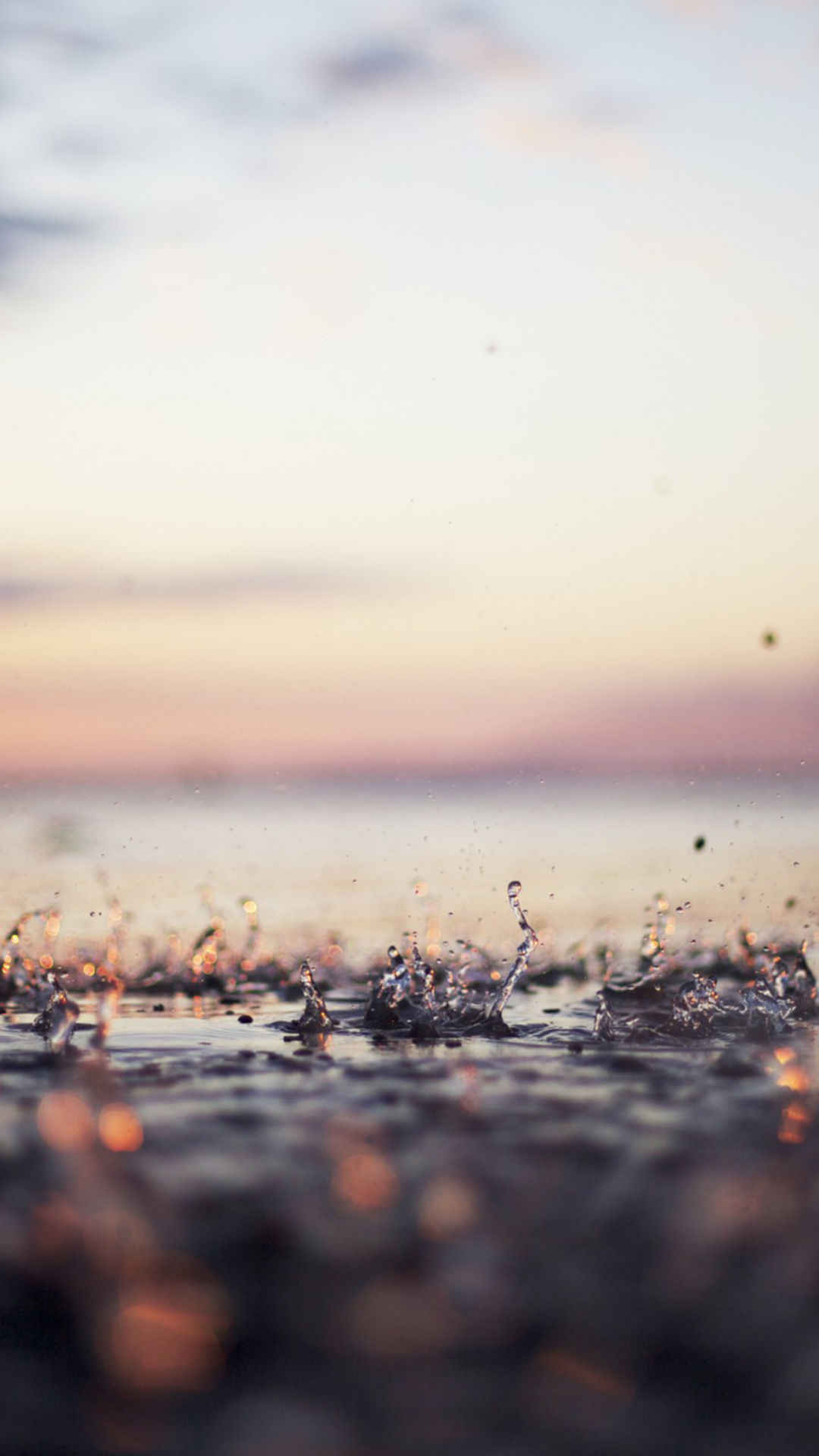 Rain drops - iPhone 6/6Plus background wallpapers Nature | @mobile9