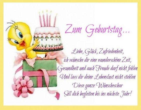 Zum Geburtstag Liebe Gluck Zufriedenheit Ich Wunsche Dir