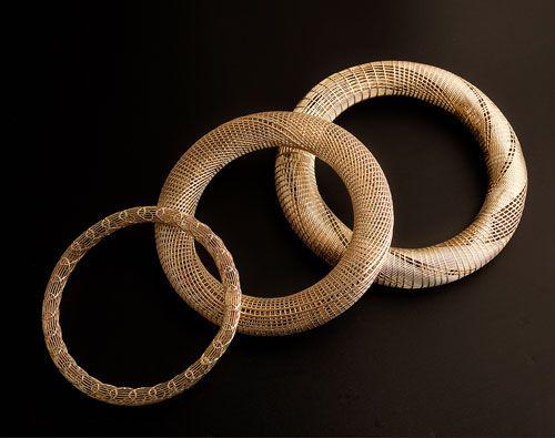 3D Printed Jewelry. Hella Ganor, Bracelets, 2011