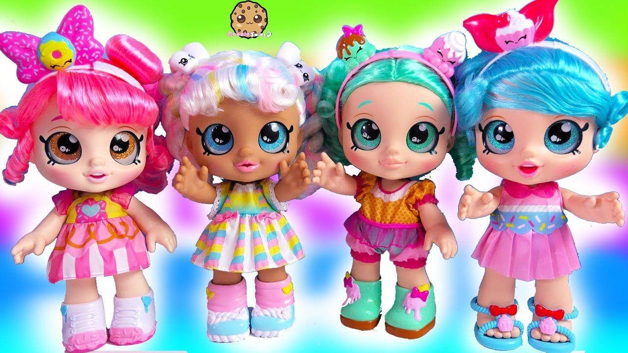 NEW Kindi Kids with Magic Shopkins - Giant Toddler Shoppies Dolls ...