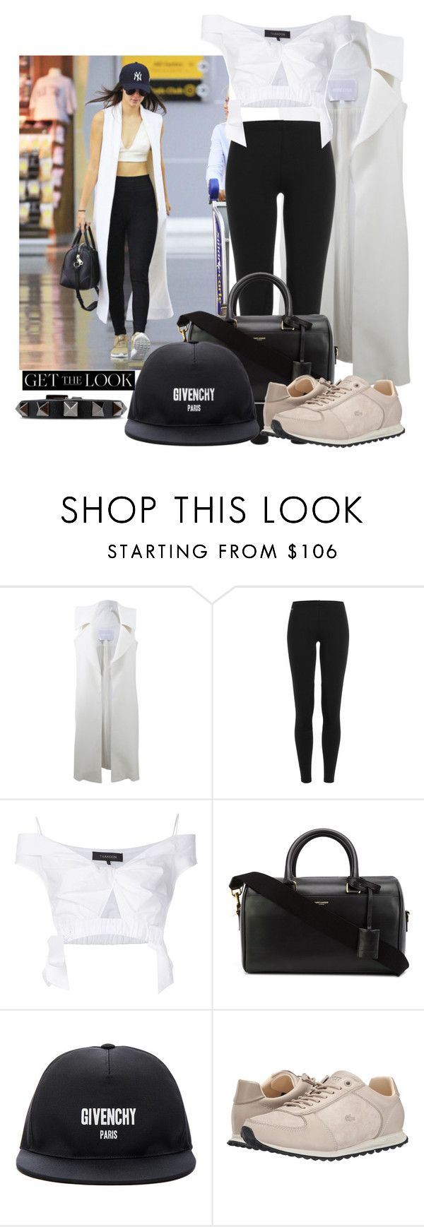 """""""Untitled #239"""" by elenarudometov ❤ liked on Polyvore featuring Cushnie Et Ochs, Polo Ralph Lauren, Thakoon, Yves Saint Laurent, Givenchy, Lacoste, Valentino, GetTheLook and hats"""