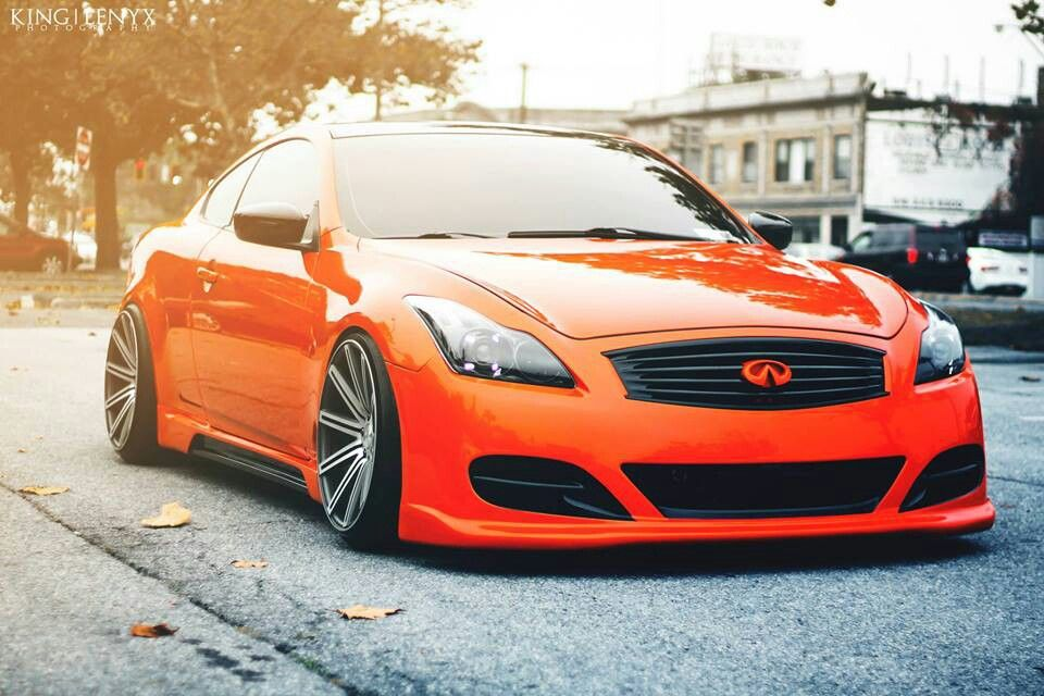 Infiniti G37 On Vossen Vvscv4 Wheels Infiniti G37 Super Cars Car