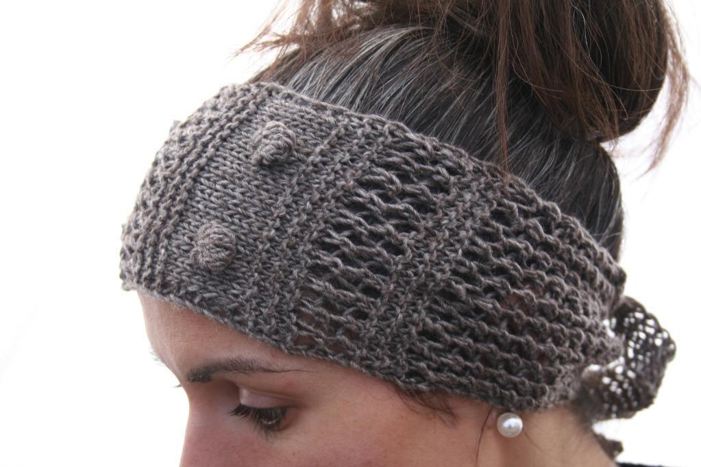 Knitting Ideas Project On Craftsy Lace Headband Headbands Plus