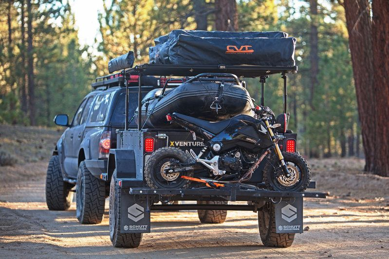 defconbrix xventure xv2 offroad trailer grom life. Black Bedroom Furniture Sets. Home Design Ideas