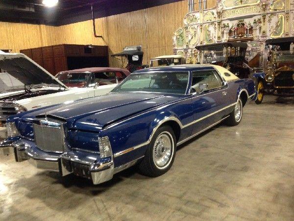 1976 Lincoln Mark Iv Continental Bill Blass Edition Lincoln