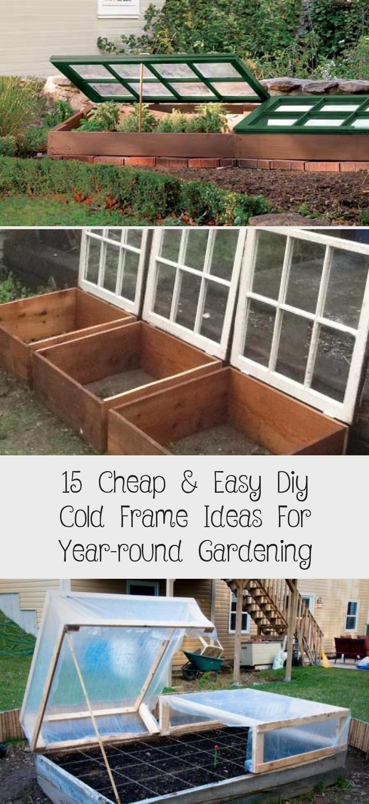 Photo of 15 günstige und einfache DIY Cold Frame-Ideen für die ganzjährige Gartenarbeit #diygardenIndo…