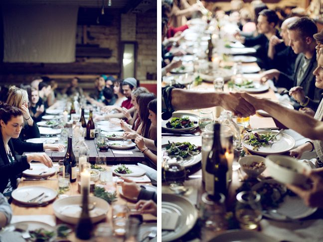 kinfolk in portland. :) food and camaraderie, the best.