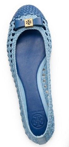 Tory Burch Carlyle Flat ♥✤ | Keep the Glamour | BeStayBeautiful
