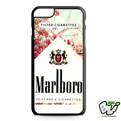Red Leaf Flower Marlboro iPhone 6 Plus Case iPhone 6S
