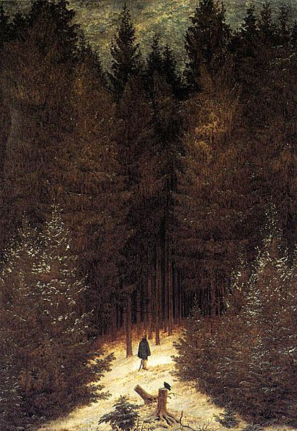 The Chasseur in the Forest: 1814