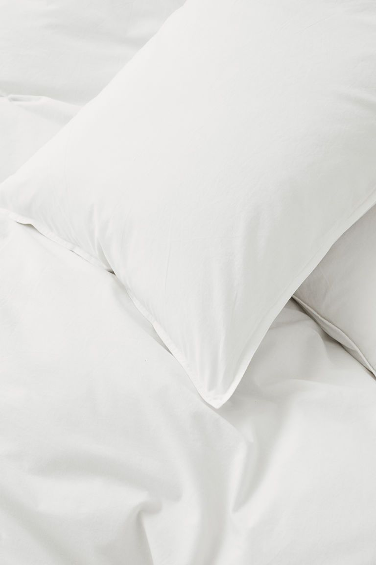 Washed Cotton Duvet Cover Set Duvet Cover Sets Cotton Duvet