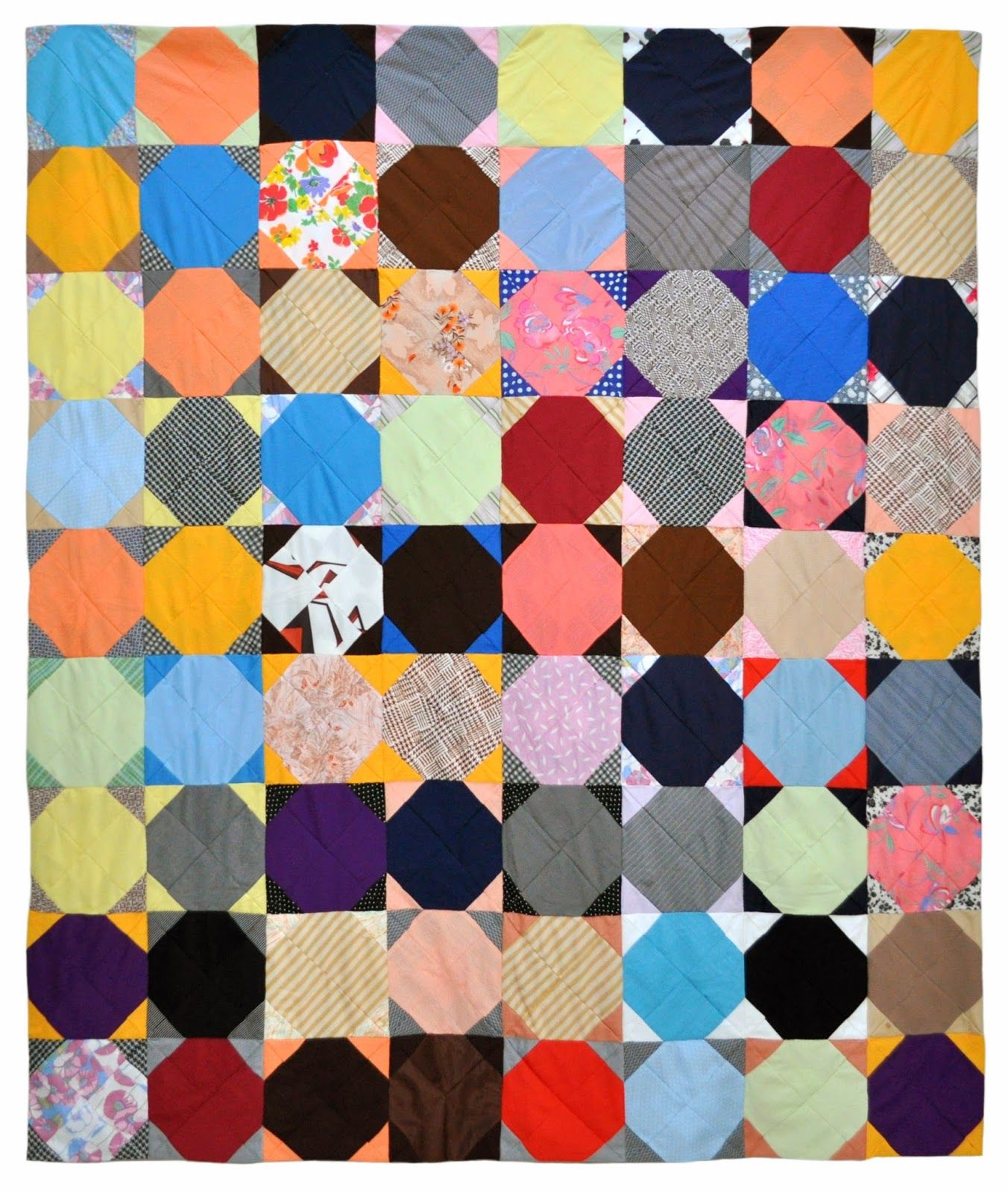 Wonkyworld Reversible Polyester Double Knit Quilt Quilting In