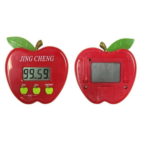 An apple a day keeps the doctor away. Kitchen timers