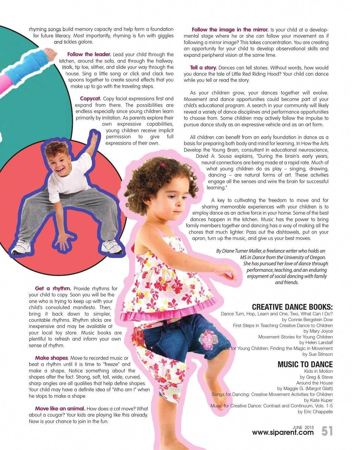 Staten Island Parent Magazine June 2015 Positive Discipline