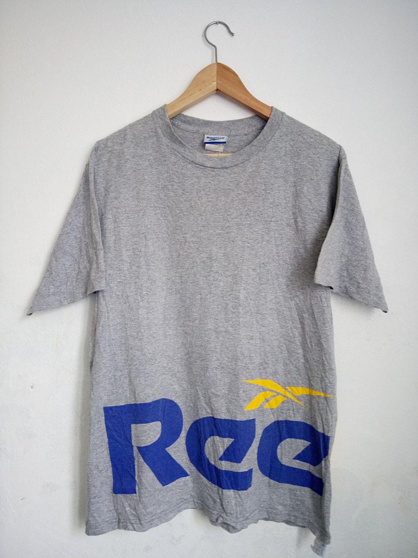 SUMMER SALE Vintage 90s Reebok Sportswear Big Letter Spell