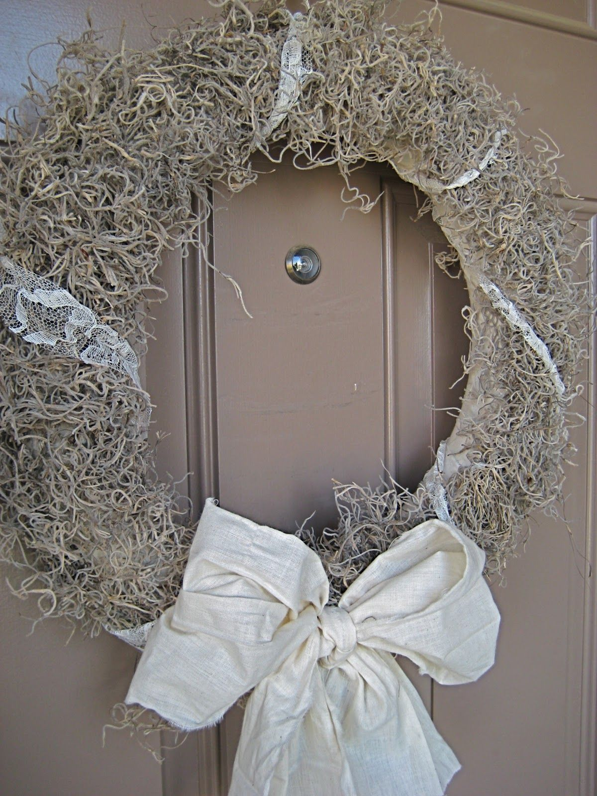 Pin by Hanna Smith on For the Home Moss wreath, Moss
