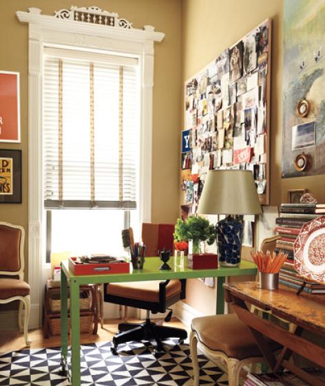 In Decorator Elaine Griffin's Harlem, New York, Office