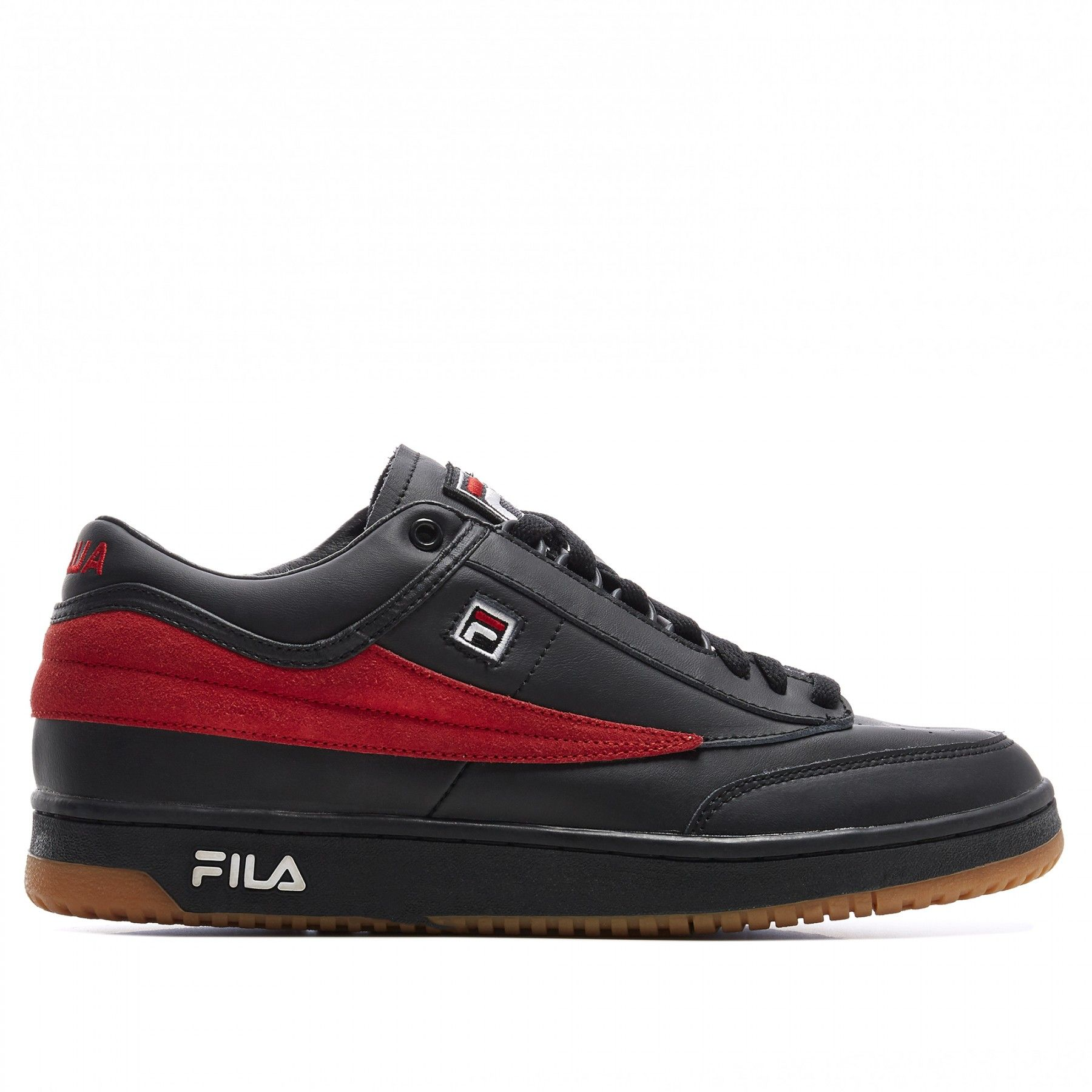 fila shoes green & red backgrounds with designs