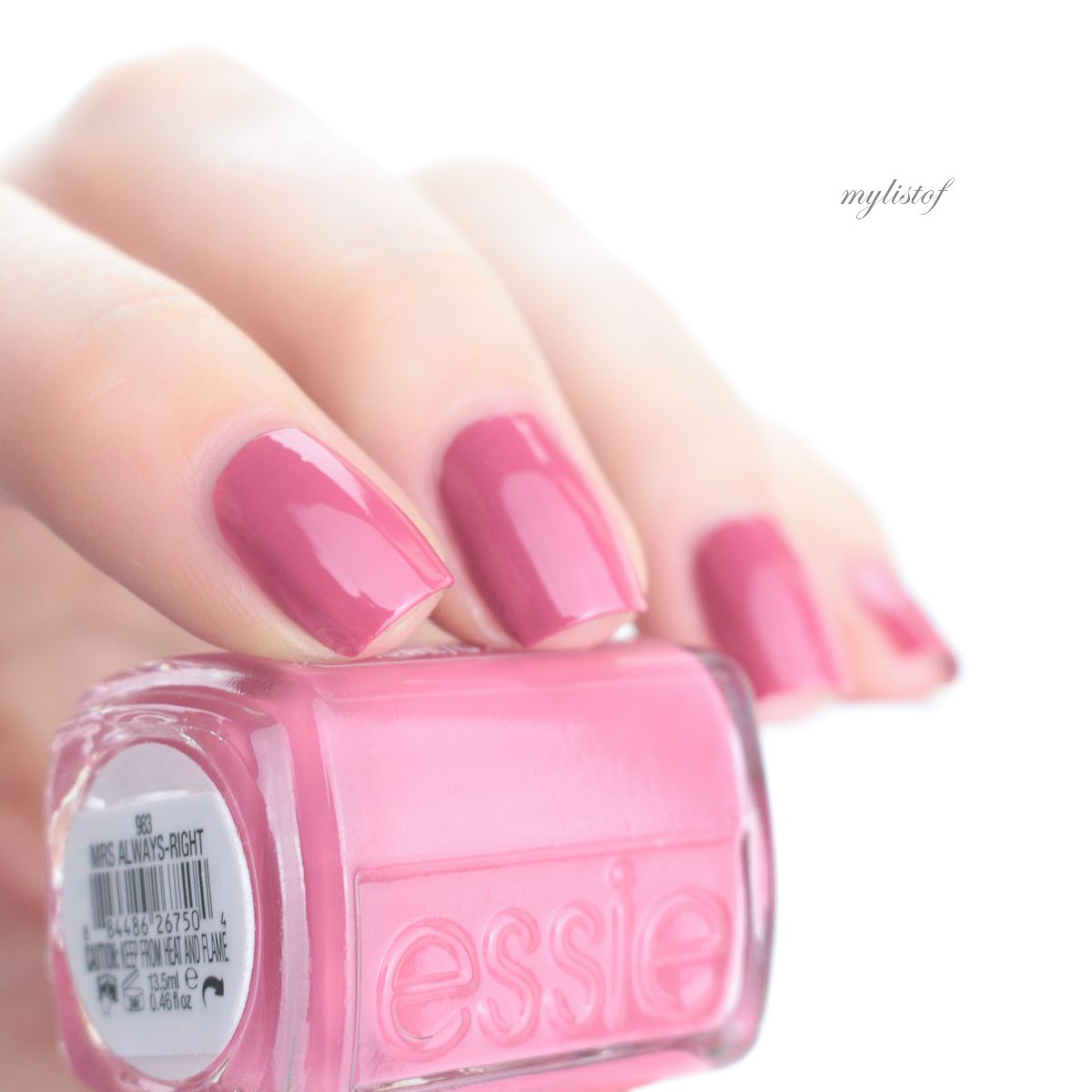 Essie, Nagellack, Swatch, Review, Pink, apricot, sheer, Creme ...