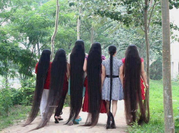 Laaaaaangt hår!