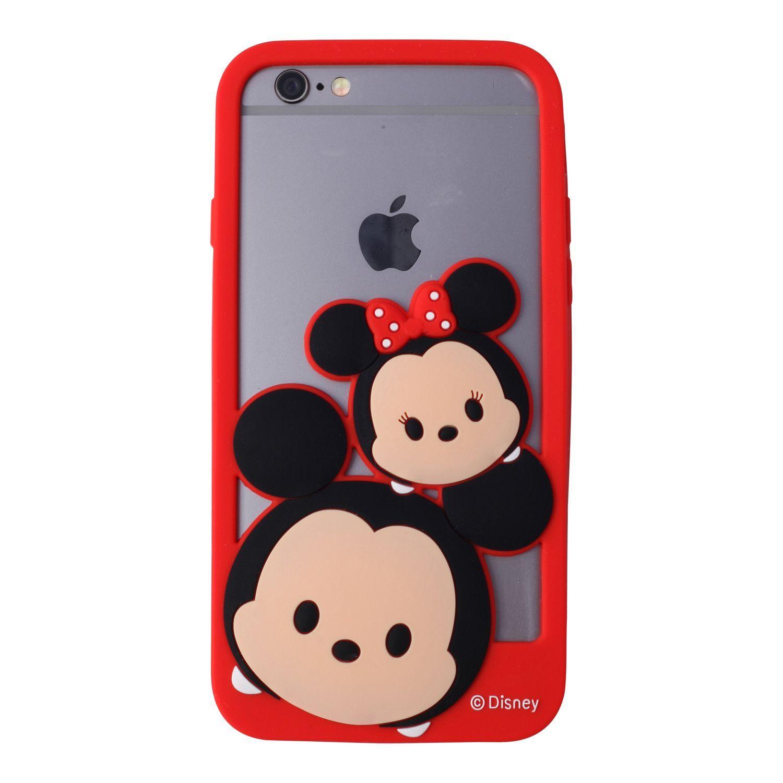 7280ad1a910 Mickey & Minnie Tsum Tsum Bumper Style Phone Case   Fundas de ...