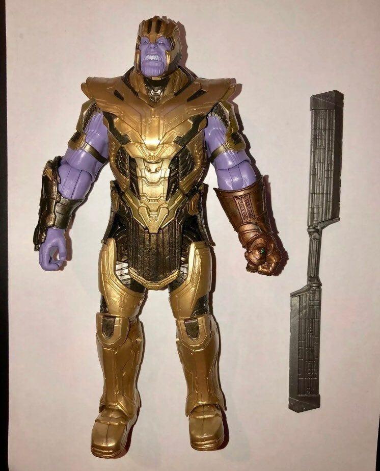 New from Box Marvel Legends Thanos 2019 Version HEAD BAF Piece