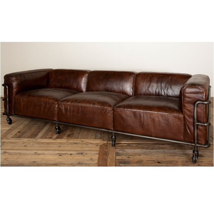 Quattro Pipe Sofa Vintage Cigar Ido Info@interiordesignonline.co.nz