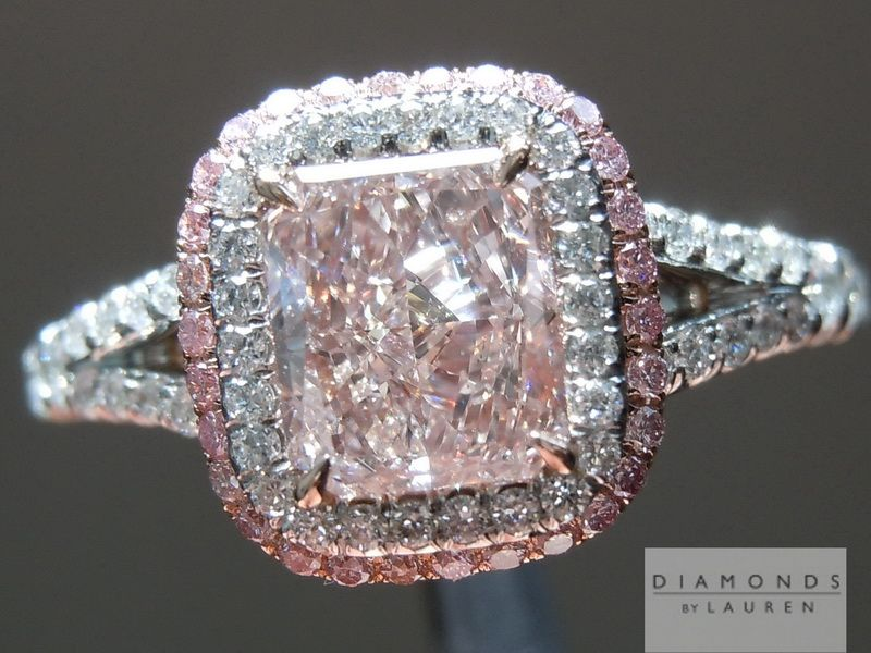 17 Best ideas about Pink Diamond Engagement Ring on Pinterest