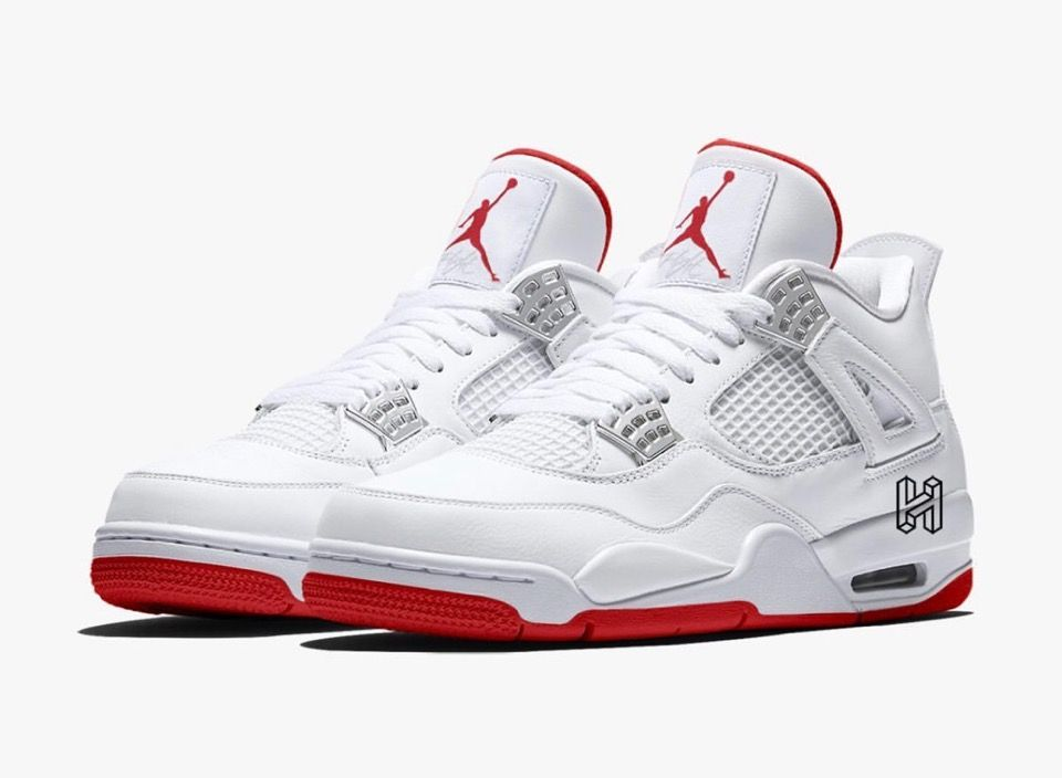 Nikeair Jordan 4 Retro White University Redが2020年6月6日に発売予定 Air Jordans Retro Air Jordans Jordan Retro 4
