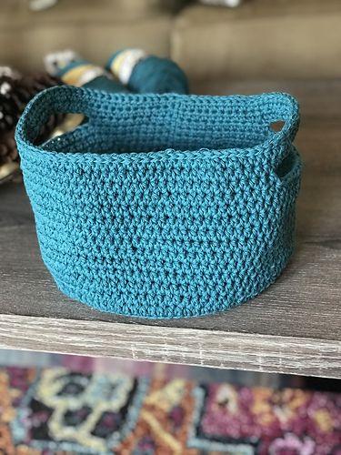 Ravelry Small Crochet Basket Pattern By Maddie Makes Crochet
