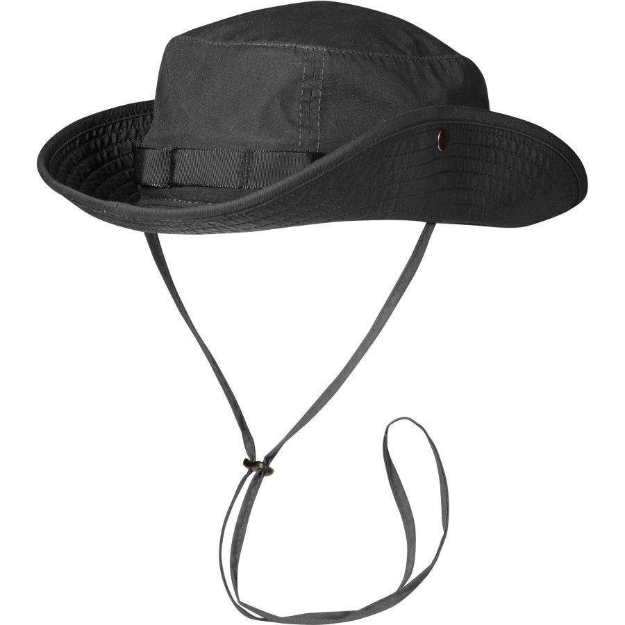 4215ee2ca4c3c Fjallraven Abisko Summer Hat Dark Grey