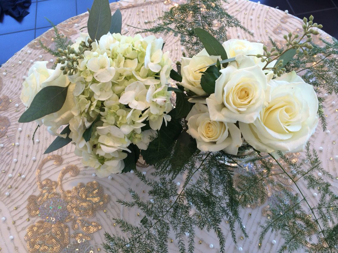 Cocktail table groupings.  Holland Daze Weddings